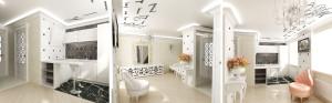 Оформление помещения с помощью натяжных потолков