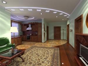 Натяжной потолок для квартиры