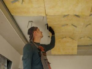 Звукоизоляция натяжного потолка в Петрозаводске