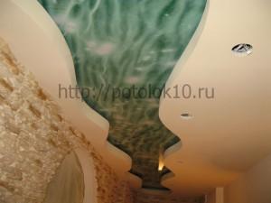 Фактурный потолок, установка и монтаж в Петрозаводске